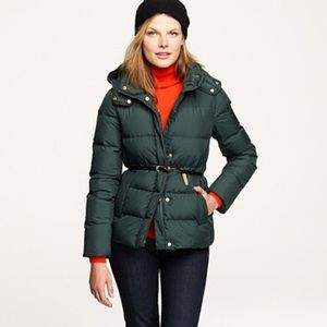 J. Crew Wonderland puffer down coat